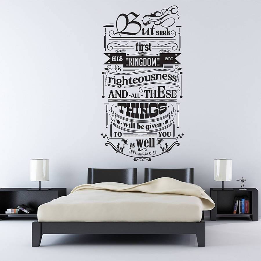 Inspirational Quotes Wall Decals Contemporary Design Wall Sticker Intended For Recent Inspirational Wall Decals For Office (View 5 of 20)