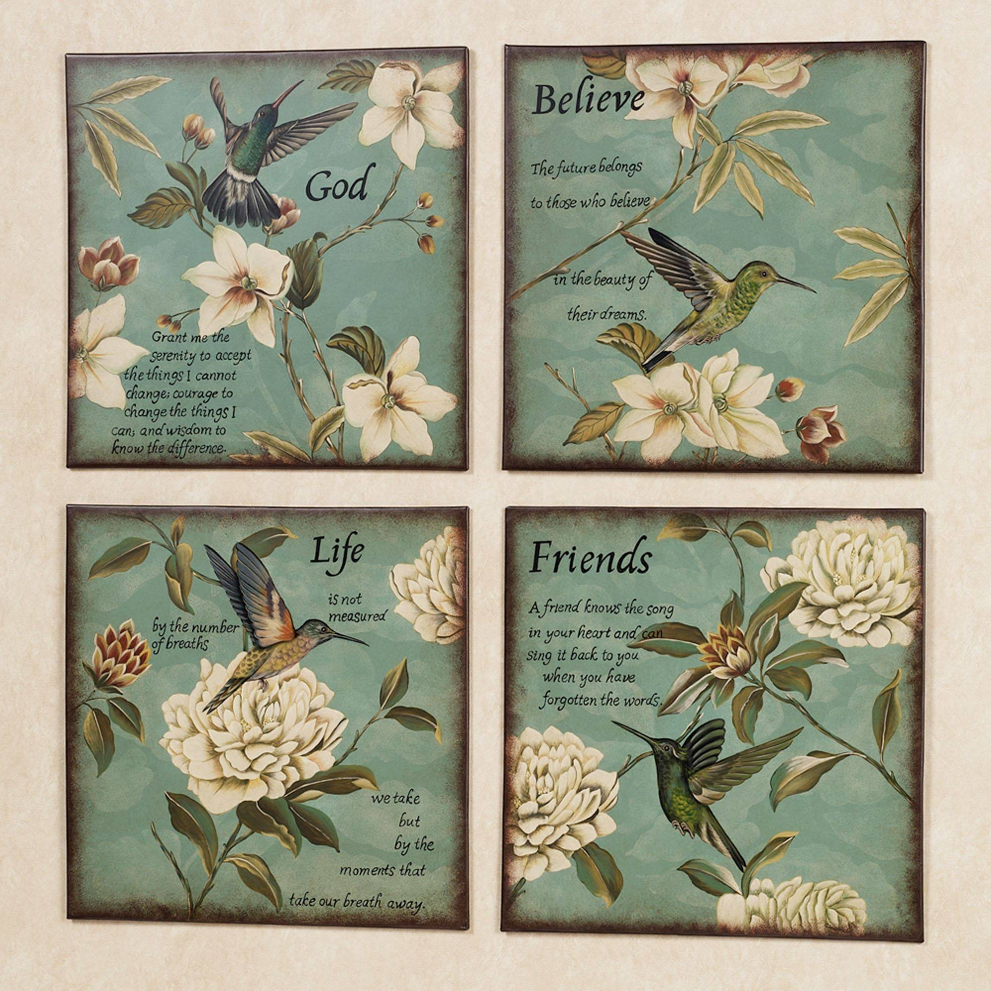 Inspirational Wall Plaques | Touch Of Class For Most Popular Inspirational Wall Plaques (Gallery 3 of 20)
