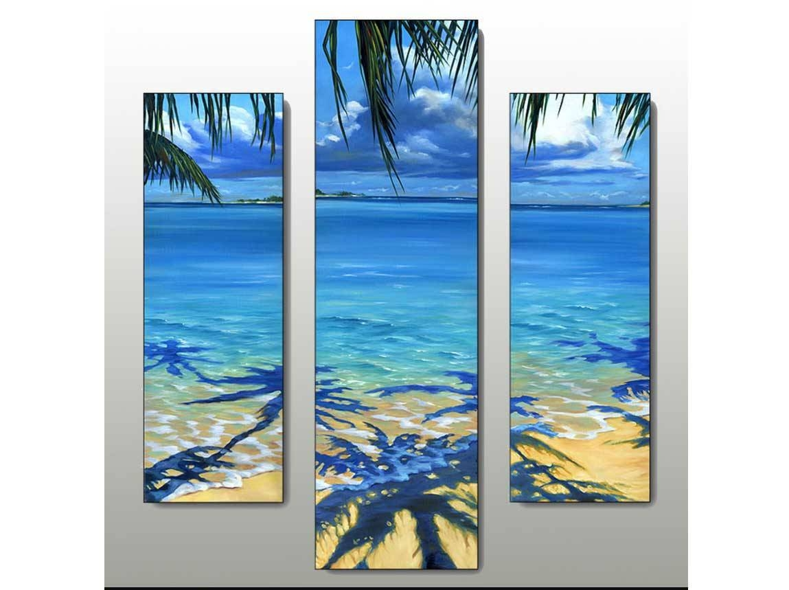 Inspiring Beach Wall Art Decoration Ideas | Home Interior & Exterior Pertaining To Most Up To Date Beach Wall Art (Gallery 4 of 15)