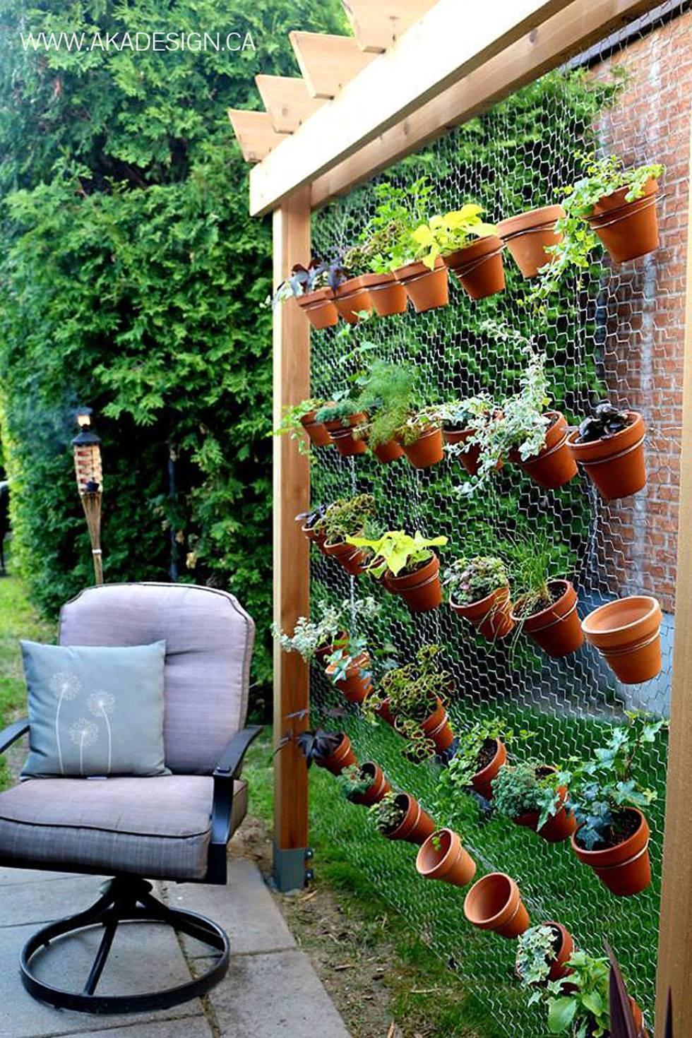 Inspiring Garden Wall Ideas Design 25 Incredible Diy Garden Fence Pertaining To Recent Diy Garden Wall Art (View 18 of 25)