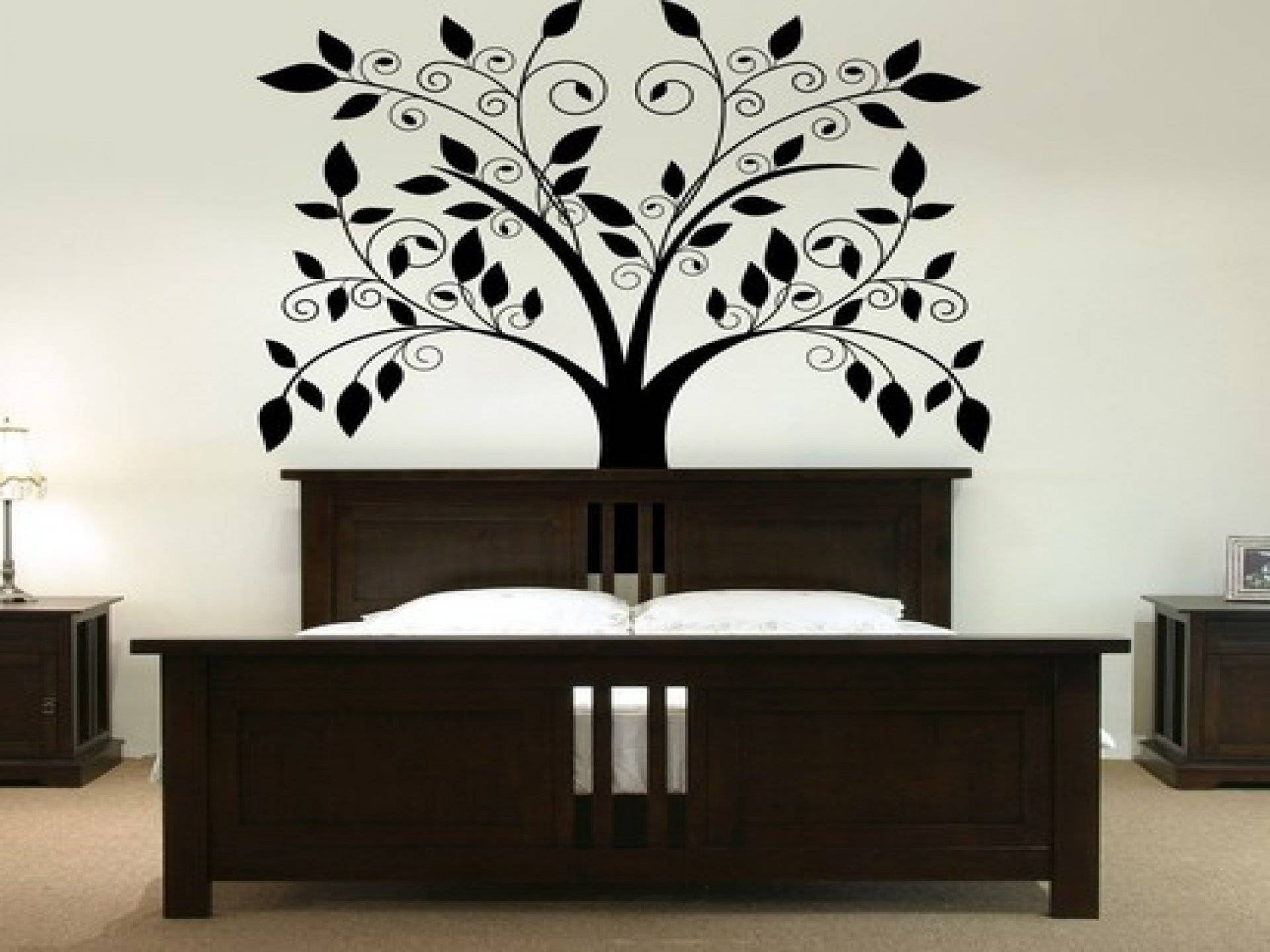 Interior. Awesome Wall Decor Ideas For Home: Astounding Wall Decor For 2017 Painted Trees Wall Art (Gallery 20 of 20)