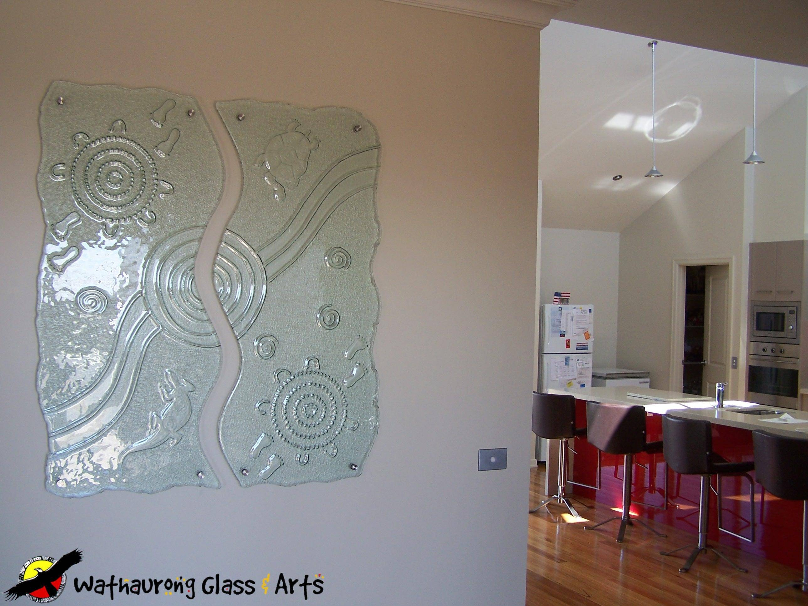 Internal Glass Wall Art – Wathaurong Glass Throughout Recent Glass Wall Art Panels (View 7 of 20)