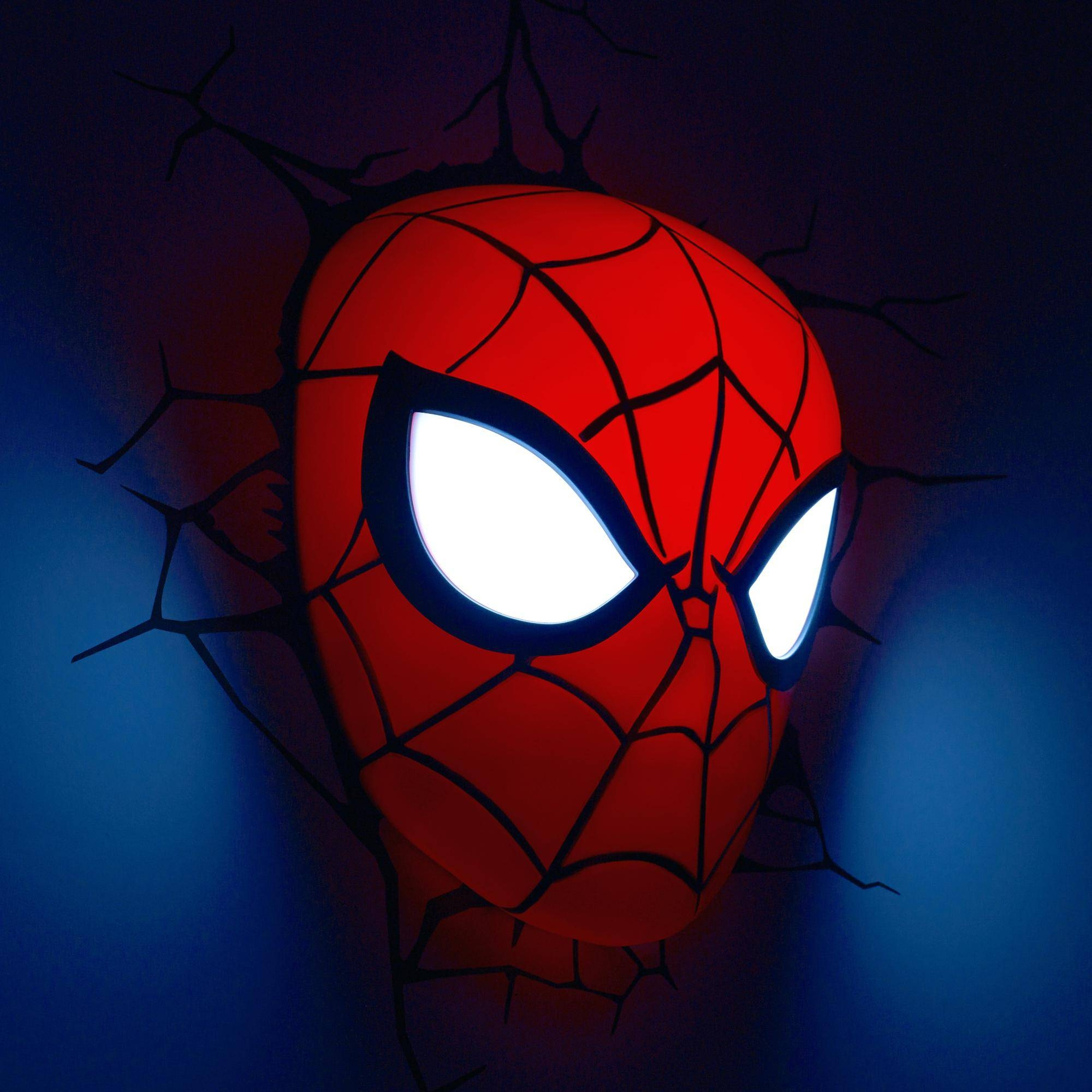 Ironman Wall Light Collection Of Marvel Lights Includes And Iron Intended For Best And Newest 3D Wall Art Night Light Spiderman Hand (View 15 of 20)