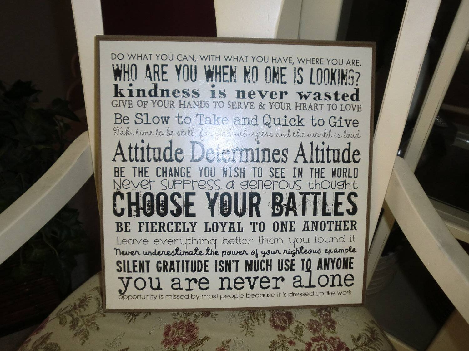 Recent Inspirational Quotes The Best Inspirational Wall Plaques