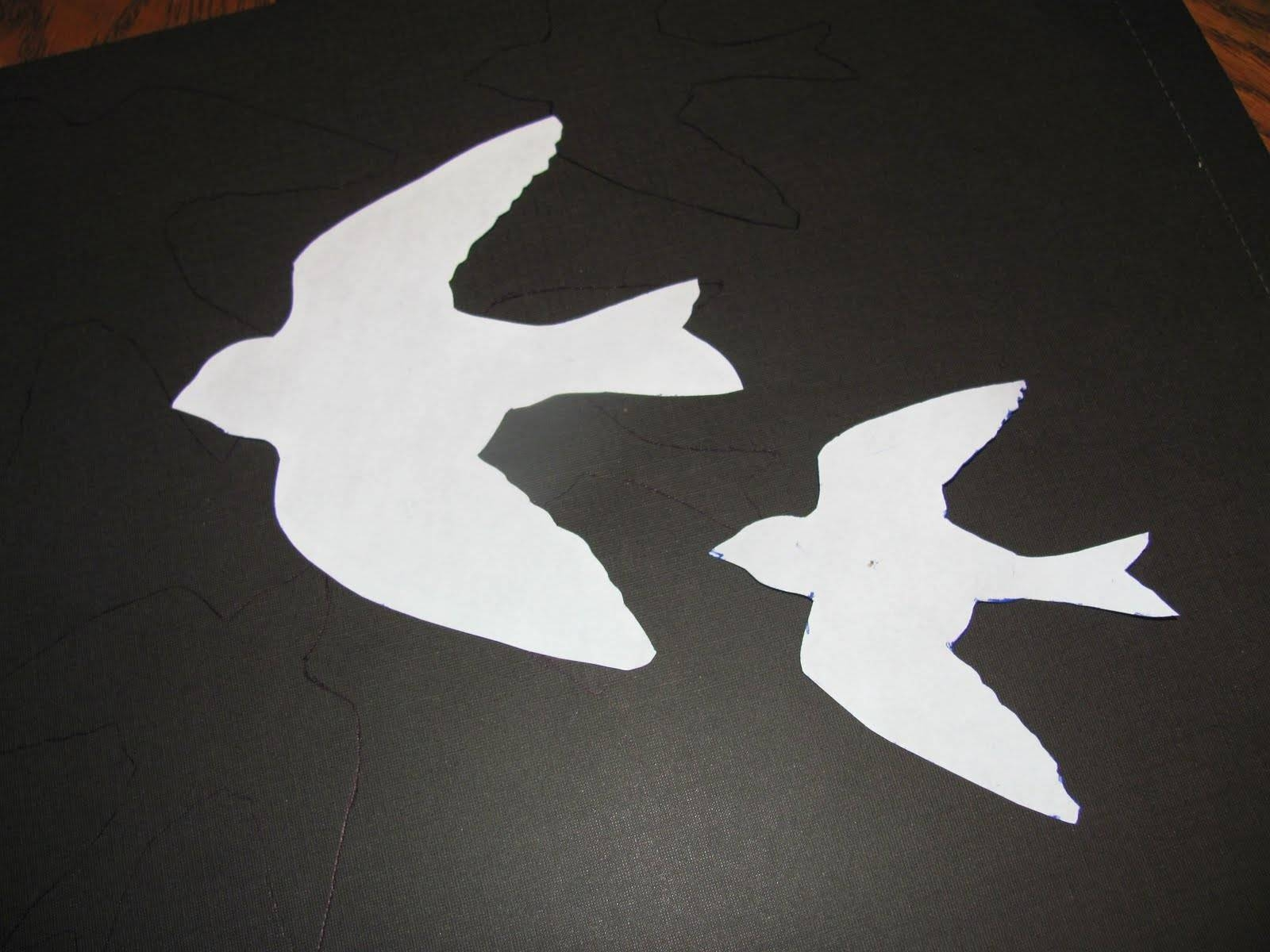 Itmom: Diy Wall Art In Current White Birds 3D Wall Art (View 9 of 20)