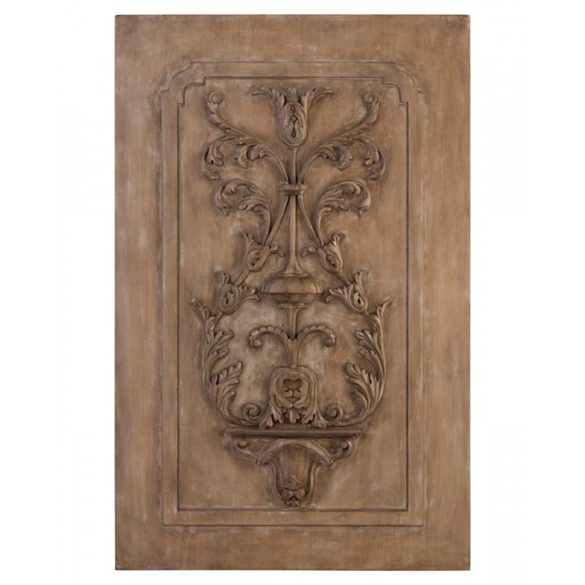 John Richard Wall Décor Acacia And Celtis Carved Panel Throughout Newest John Richard Wall Art (View 8 of 20)