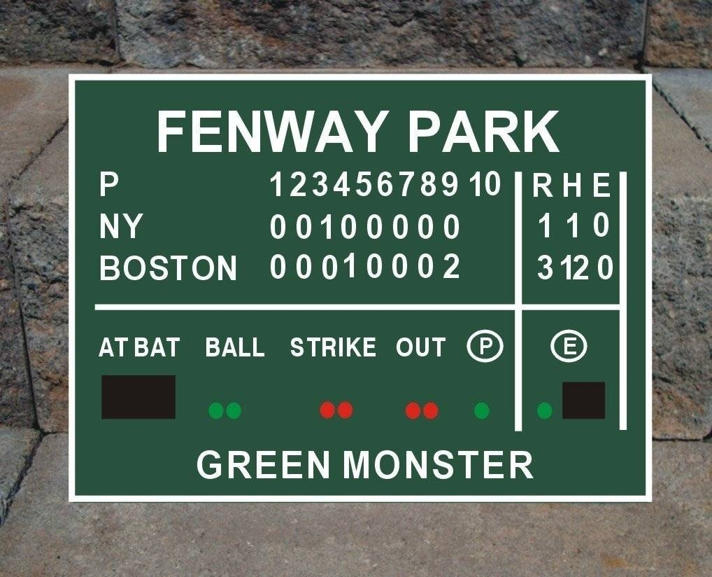 Jordans Red Sox Promotion 2017 Bedroom Fenway Green Monster Wall in Newest Red Sox Wall Decals