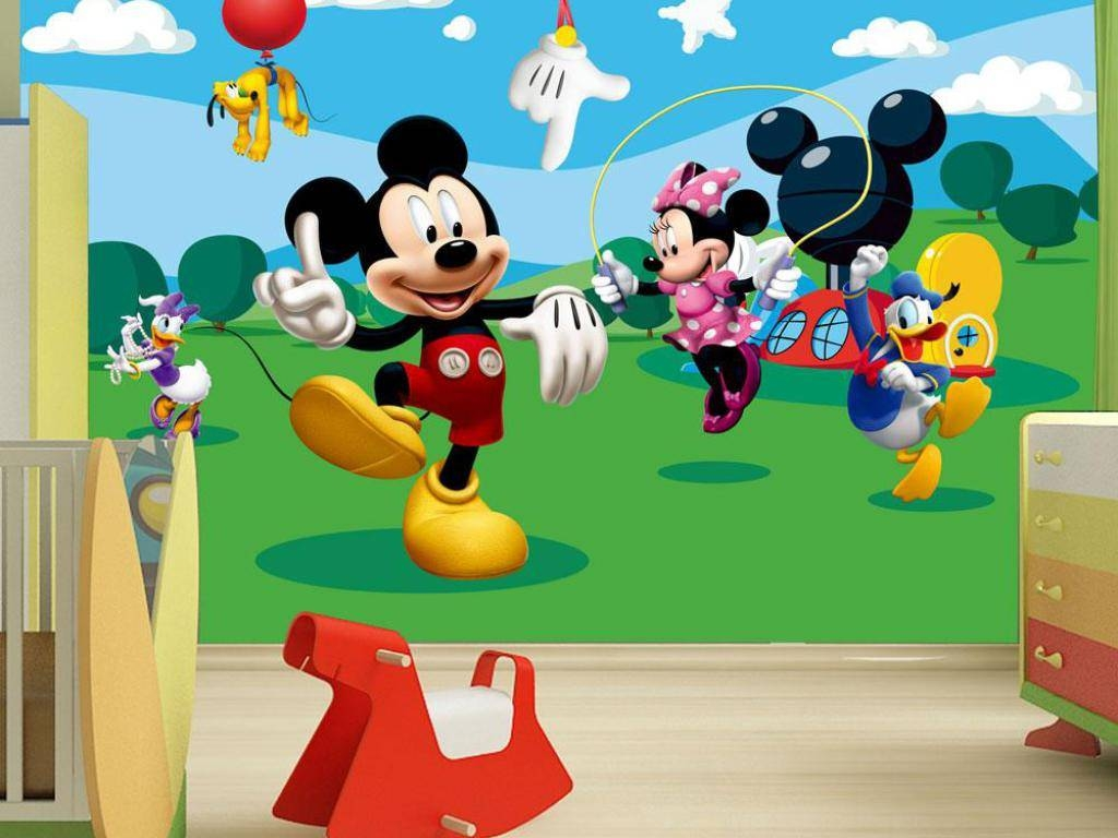 June 2017's Archives : Dinosaur Pictures For Kids Room Collection Pertaining To Best And Newest Mickey Mouse Clubhouse Wall Art (View 6 of 20)