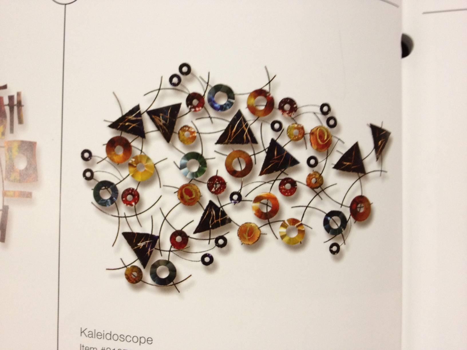 Kaleidoscope Metal Sculpture Wall Art Within Current Kaleidoscope Wall Art (View 8 of 20)