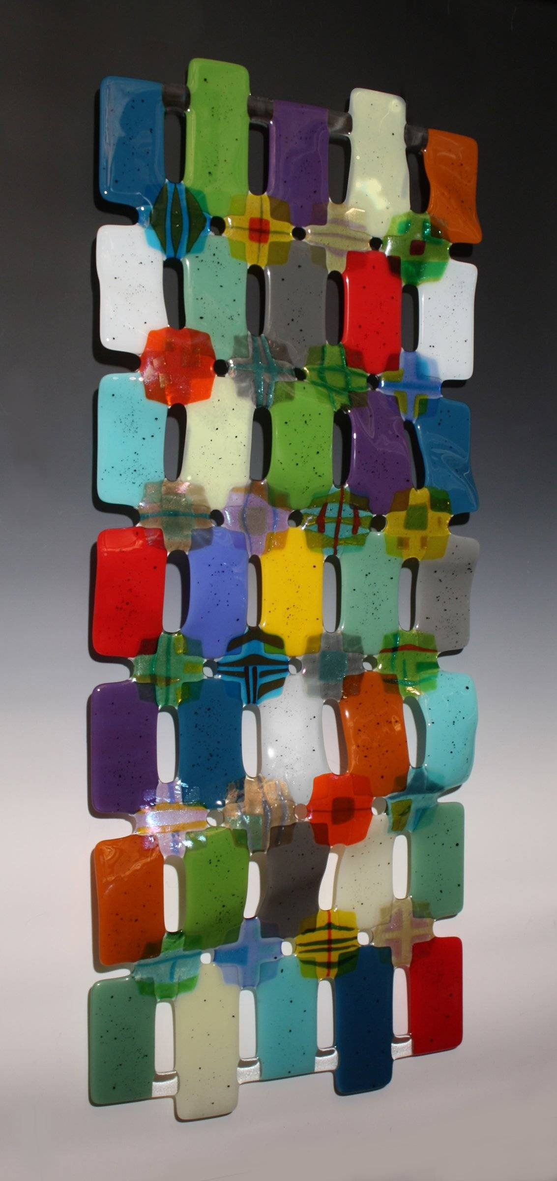 Kaleidoscopenina Cambron (Art Glass Wall Sculpture) | Artful Home For Latest Kaleidoscope Wall Art (View 16 of 20)