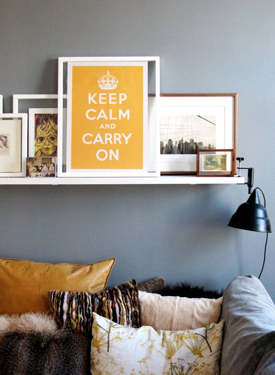Keep Calm And Carry On Decor For Your Home | Idesignarch with regard to Most Popular Keep Calm And Carry On Wall Art