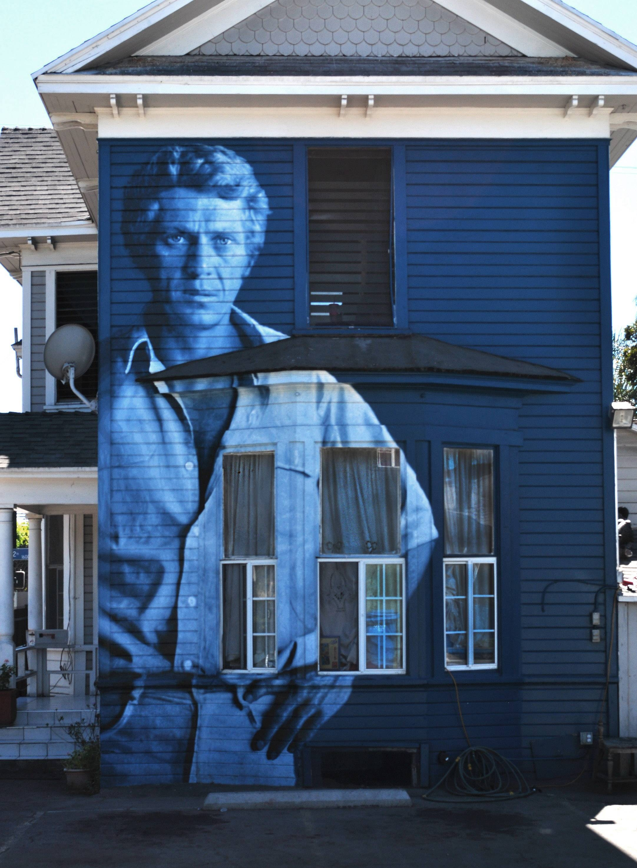 Kent Twitchell | The Other Art Talk | Intended For Best And Newest Steve Mcqueen Wall Art (Gallery 7 of 20)