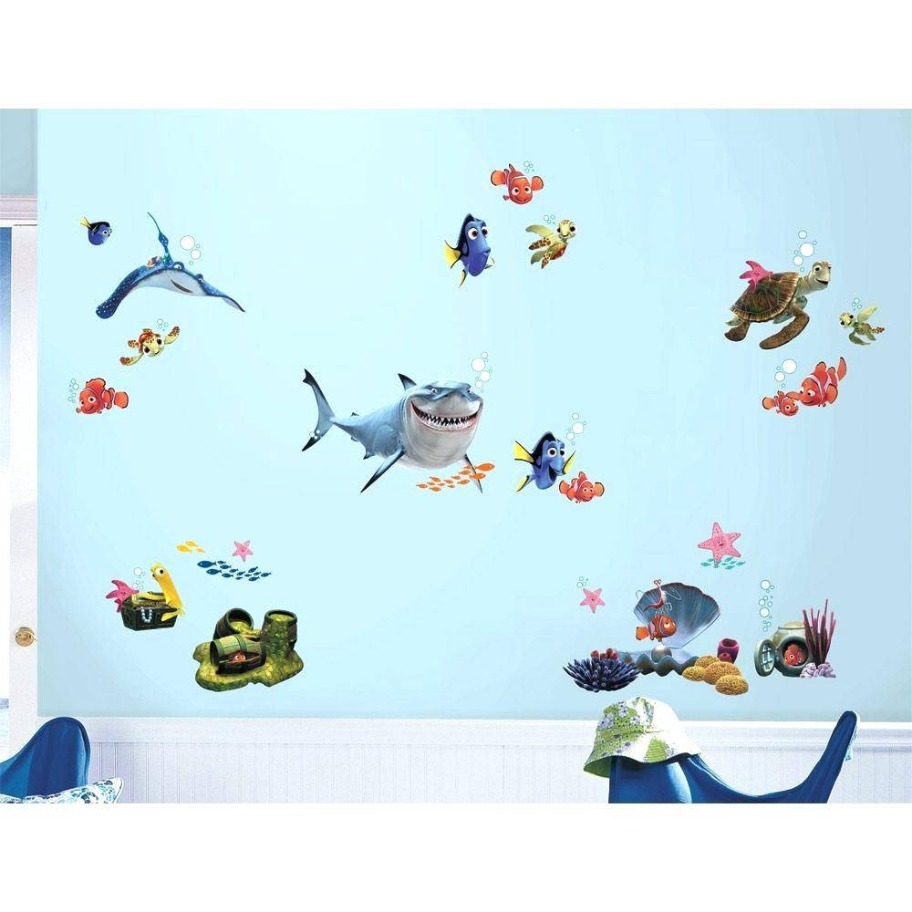 Kids Bathroom Wall Decals – Gutesleben Throughout Most Recent Fish Decals For Bathroom (Gallery 4 of 30)