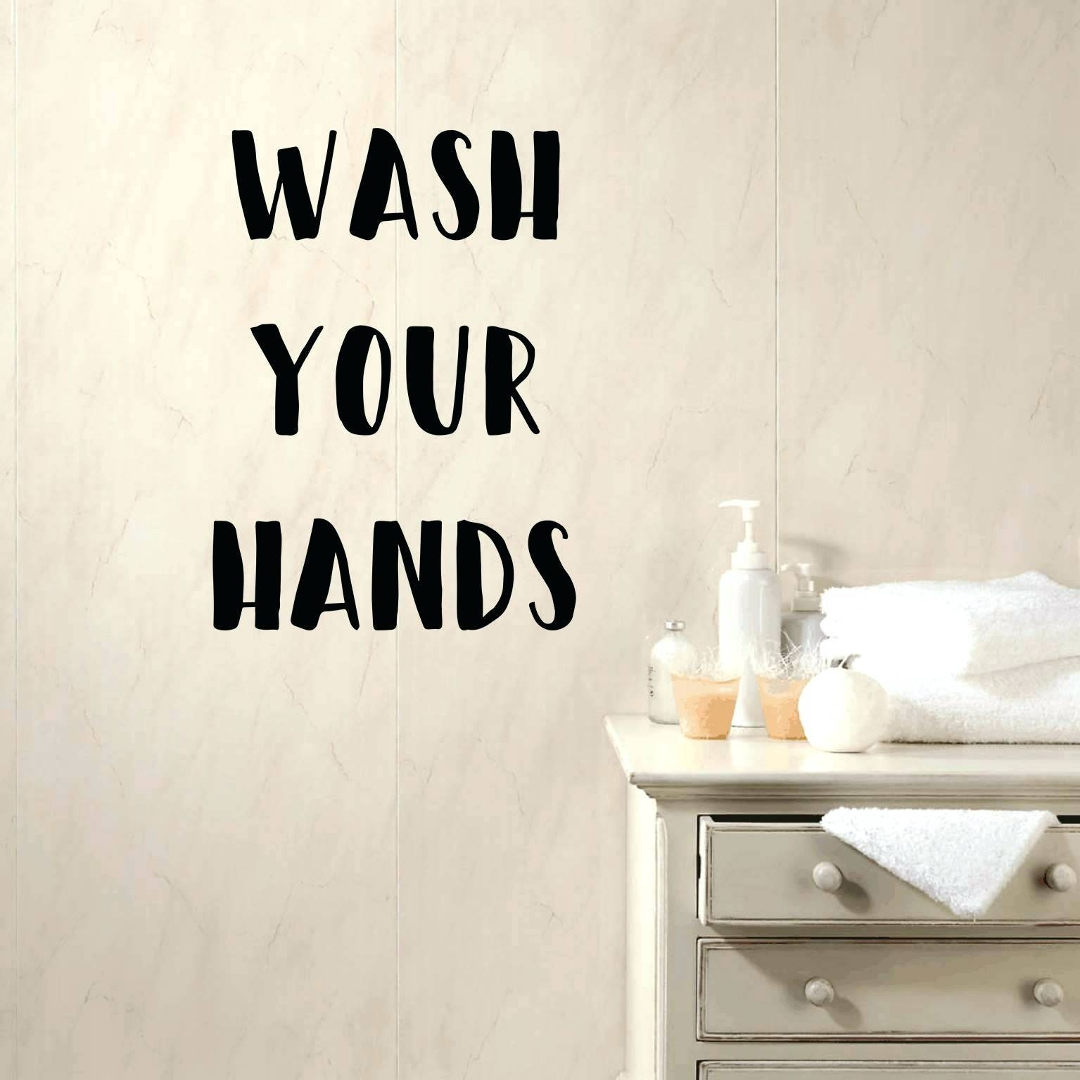 Kids Bathroom Wall Decals Wash Your Hands Decal Bathroom Wall In Most Recently Released Fish Decals For Bathroom (View 17 of 30)