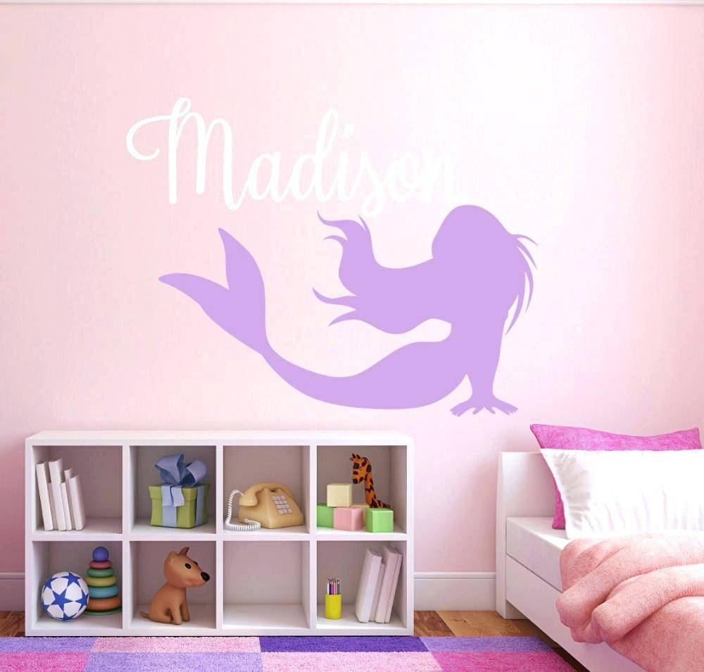 Kids Name Wall Decals Wall Ideas Personalized Name Wall Art in Most Up-to-Date Last Name Wall Art