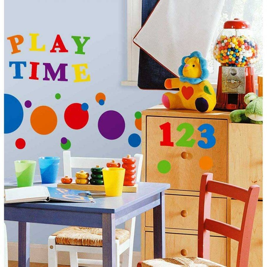 Kids Playroom Ideas With Wall Art And Drawers And Chair – Bedroom With Regard To 2017 Playroom Wall Art (Gallery 25 of 30)