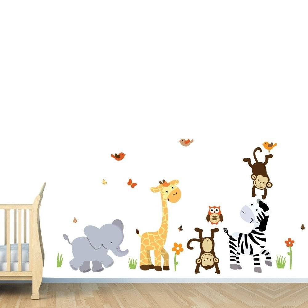 Kids Rooms Decals ~ Interiors Design Pertaining To Best And Newest Wall Art Stickers For Childrens Rooms (View 7 of 20)
