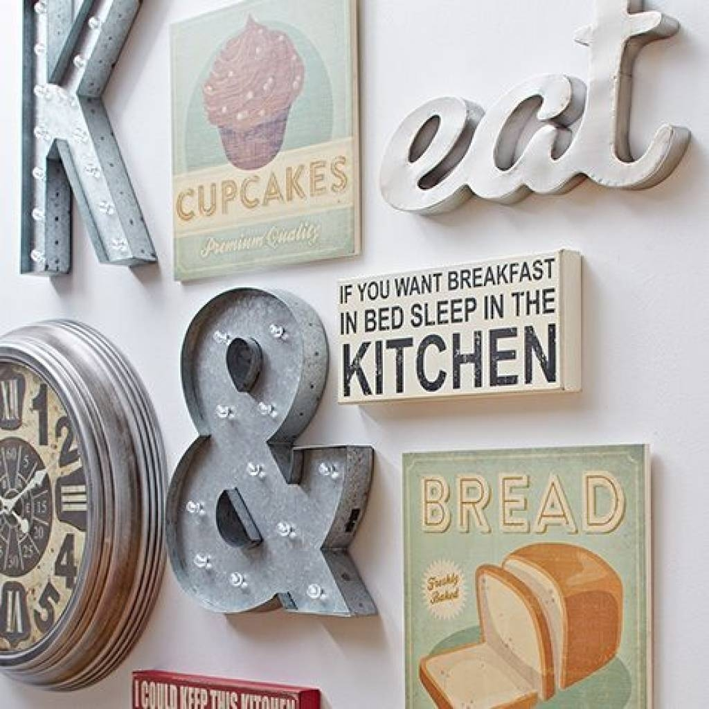 Kitchen Decorating Ideas Wall Art 1000 Ideas About Kitchen Wall Inside 2018 Kitchen Wall Art Sets (Gallery 3 of 15)