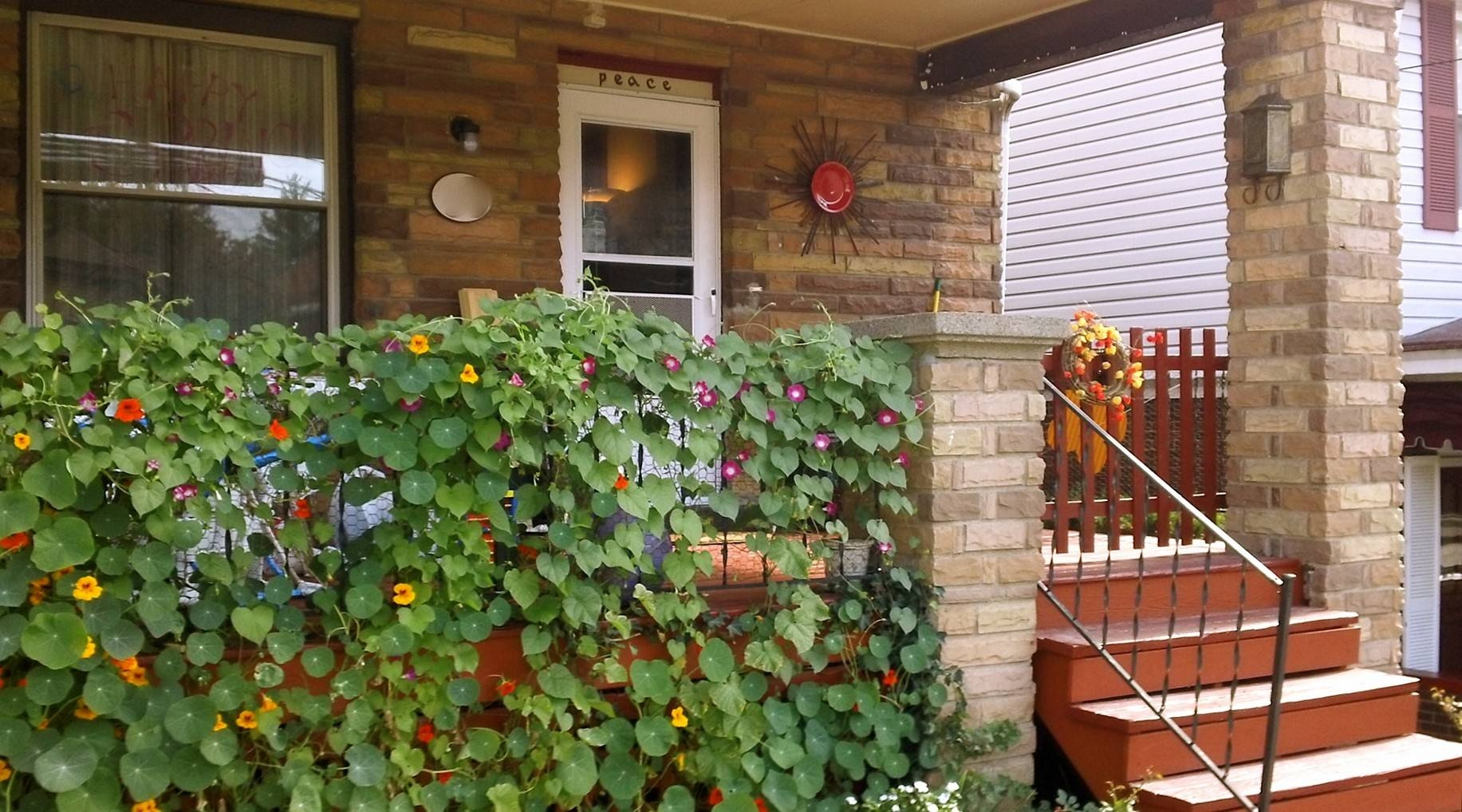 Kitchen : Garden Wall Decoration Ideas Within Admirable Lawn Throughout 2017 Diy Garden Wall Art (View 15 of 25)
