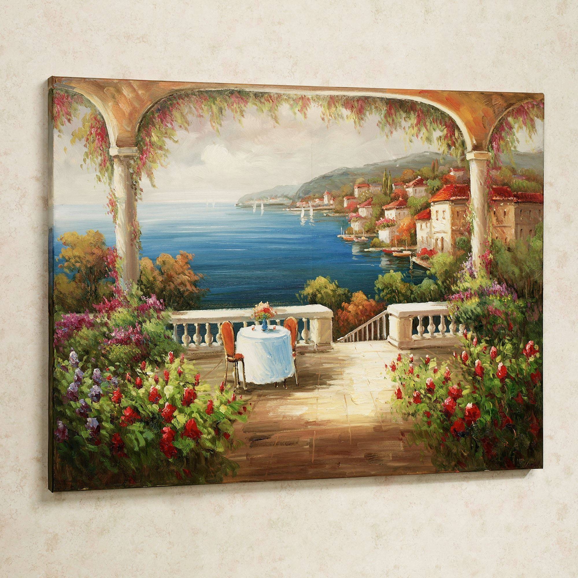Kitchen : Kitchen Canvas Art Home Decor Wall Art Living Room Wall Throughout Best And Newest Italian Wall Art Decor (View 13 of 30)