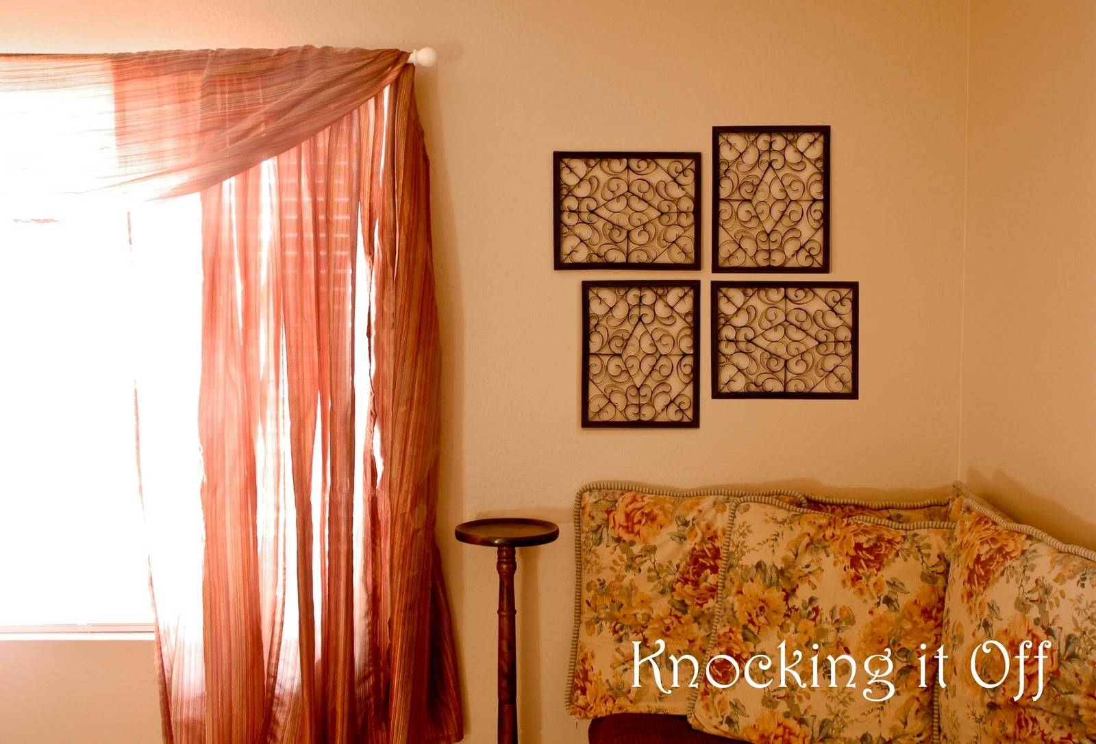Knocking It Off: Tribute To: Cardboard! (Faux Wrought Iron Wall With Regard To Most Popular Faux Wrought Iron Wall Decors (Gallery 19 of 25)