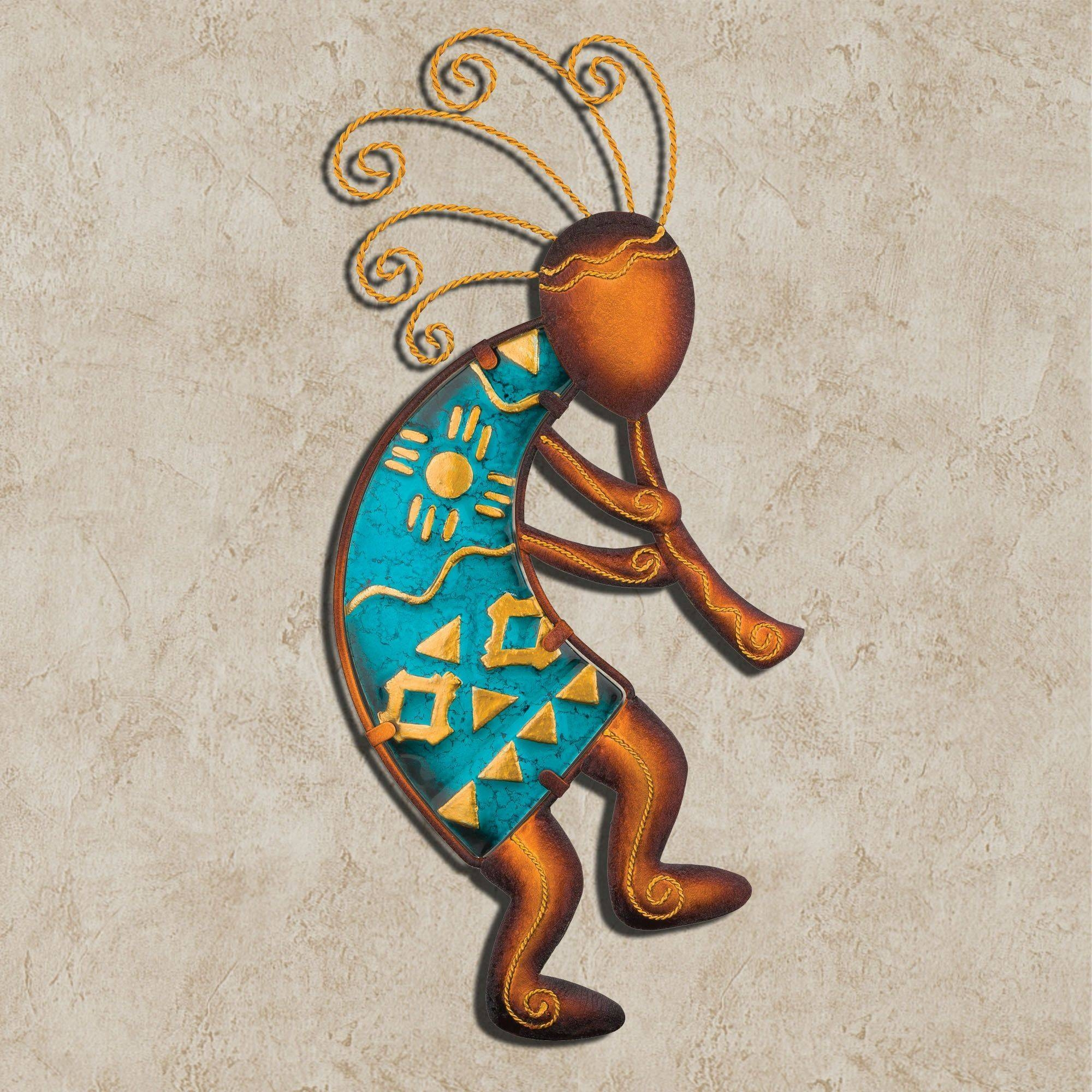Kokopelli Flutist Southwest Wall Art With Regard To Recent Kokopelli Metal Wall Art (Gallery 3 of 25)