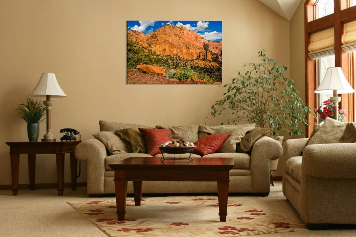 Kolob Canyon - Rogue Aurora Photography throughout Most Recent Vibrant Wall Art
