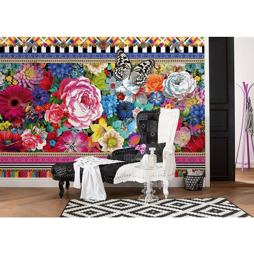 Komar 106 In. X 153 In. El Paradiso Beachfront Deck Mural-8-101 pertaining to Best and Newest Nba Wall Murals