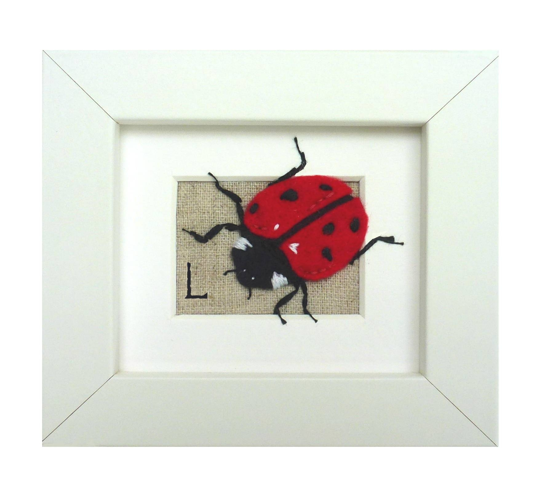 Ladybird Wall Art, Insect Wall Art, Children's Bedroom Art, New With Newest Insect Wall Art (View 15 of 30)