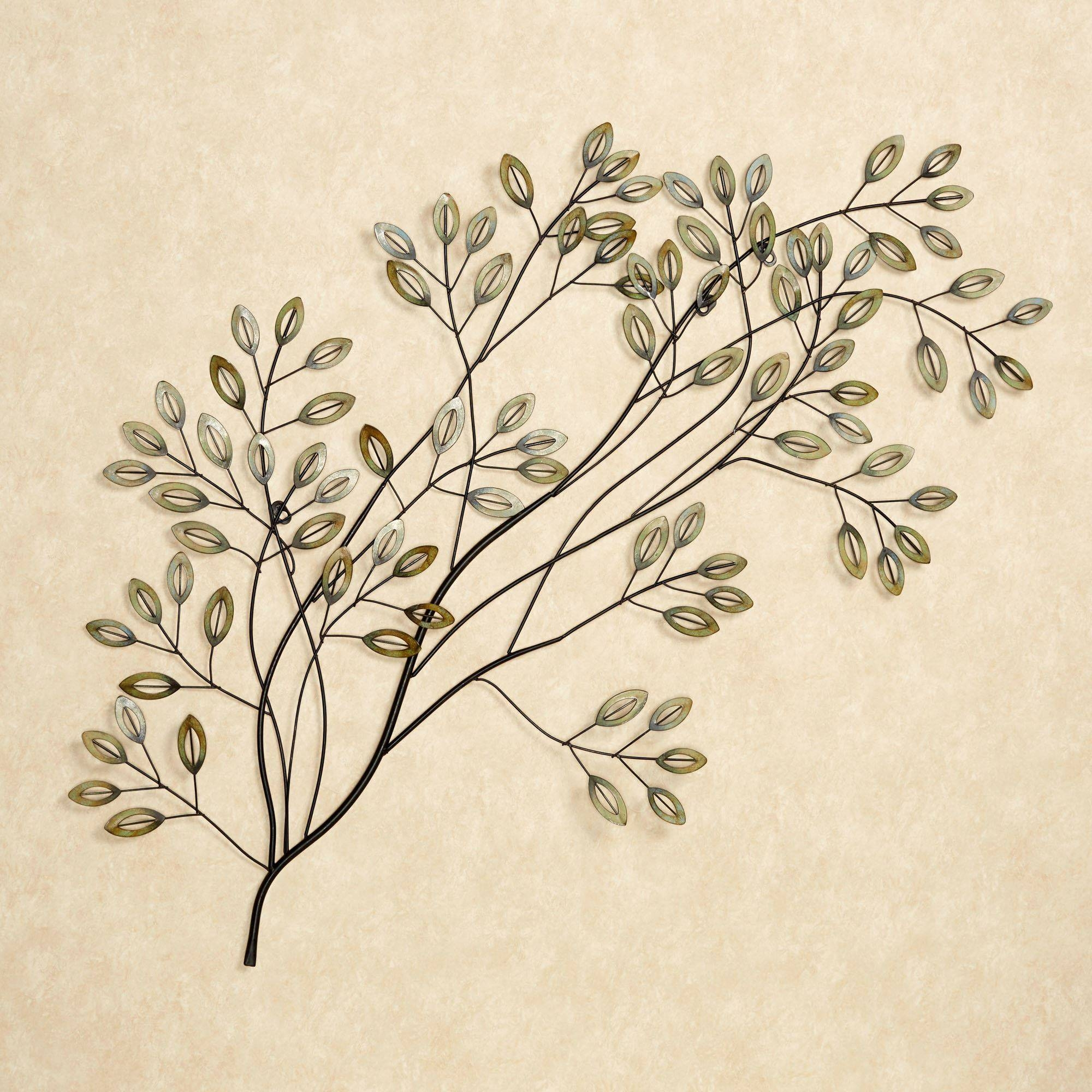 Lakewood Tree Metal Wall Sculpture Art With Regard To Most Current Metal Tree Wall Art Sculpture (View 8 of 20)