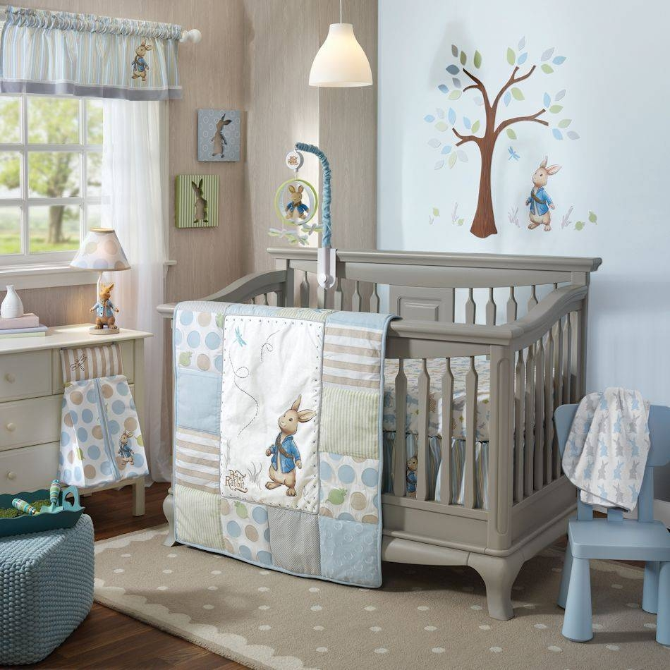 Lambs & Ivy Peter Rabbit 5 Piece Baby Nursery Crib Bedding Set W Within Current Peter Rabbit Wall Art (View 3 of 15)