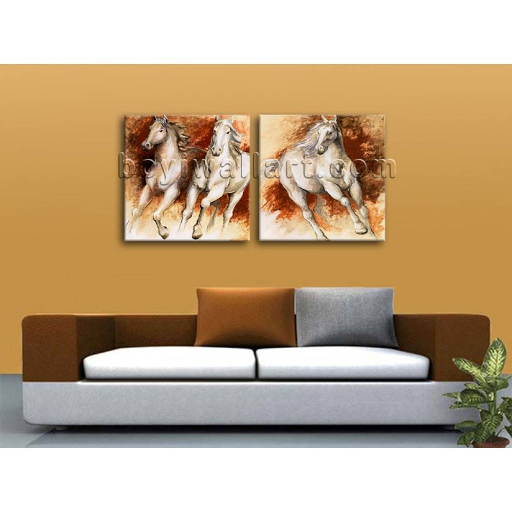 Large Canvas Print Wall Art Set Contemporary Living Room Decor Pertaining To Best And Newest Wall Art Sets For Living Room (View 5 of 20)