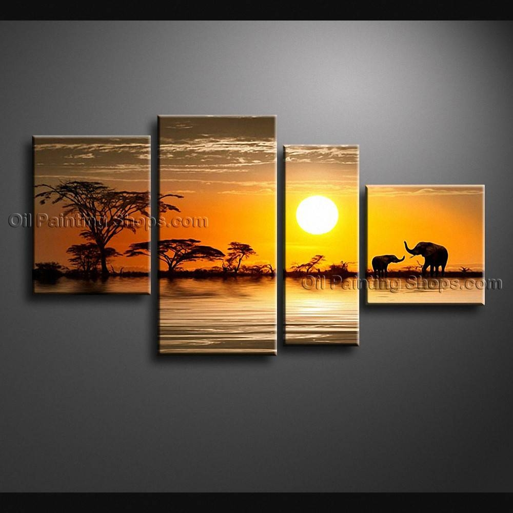 Large Contemporary Wall Art Landscape Painting Decoration Ideas For Newest Large Contemporary Wall Art (View 16 of 20)