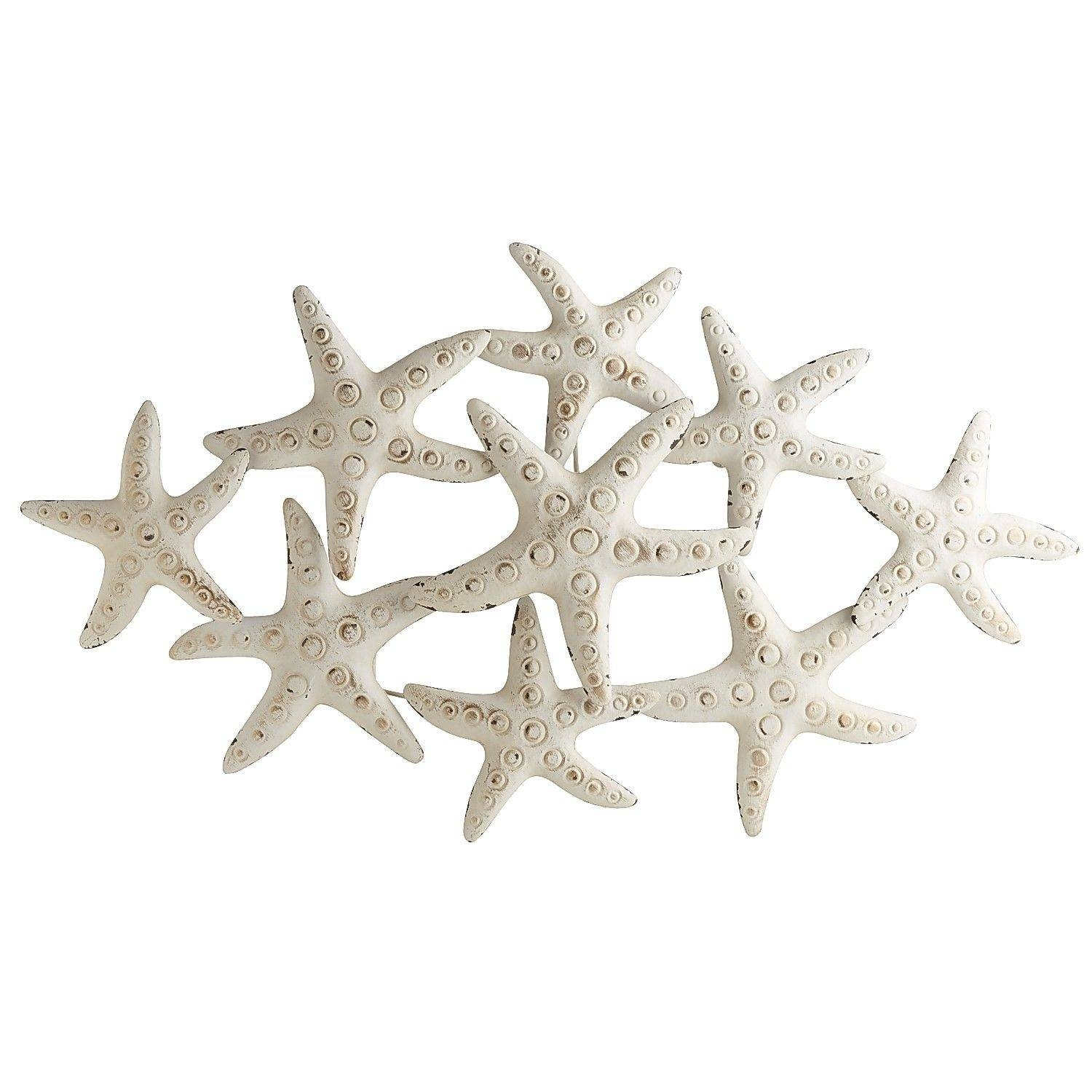 Large Metal Starfish Wall Decor • Wall Decorating Ideas Regarding Most Recent Large Starfish Wall Decors (View 13 of 25)