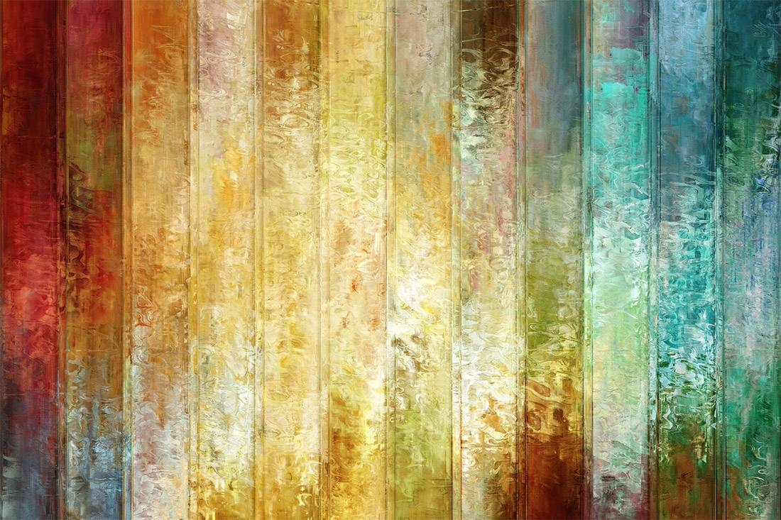 """Large Modern Wall Art – """"come A Little Closer"""" – Regarding Most Recent Orange And Turquoise Wall Art (View 20 of 20)"""