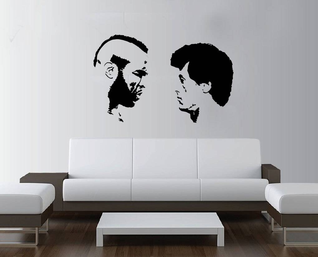 Large Rocky Balboa Boxing Mr T Wall Art Decal Mural Sticker Throughout Most Current Rocky Balboa Wall Art (View 4 of 20)