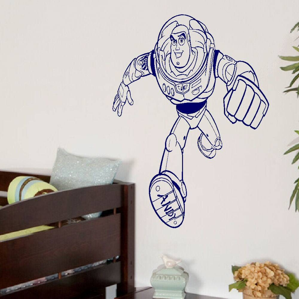 Large Toy Story Buzz Lightyear Childrens Bedroom Wall Art Mural In 2017 Toy Story Wall Art (View 21 of 30)