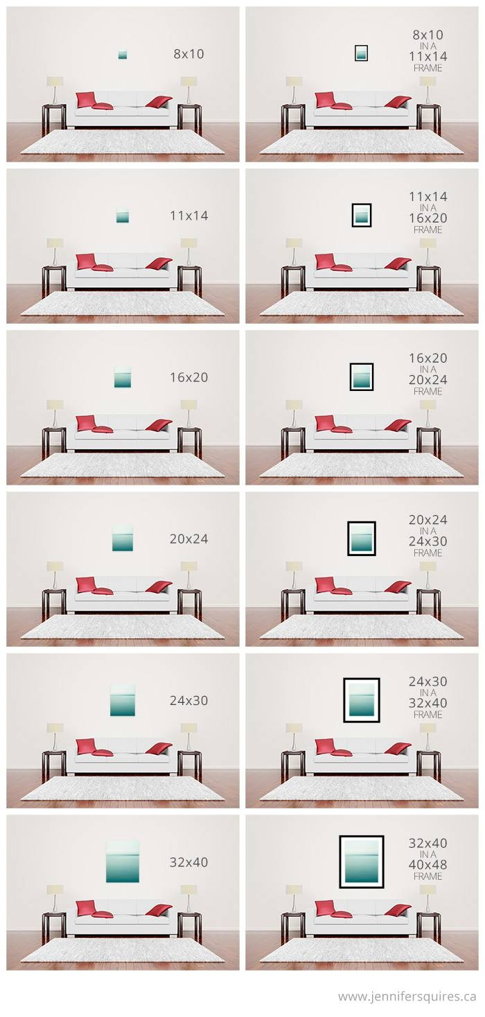 Large Wall Art Above Sofa – Sizes For Canvases And Framed Prints Inside Most Recent Sofa Size Wall Art (View 8 of 20)