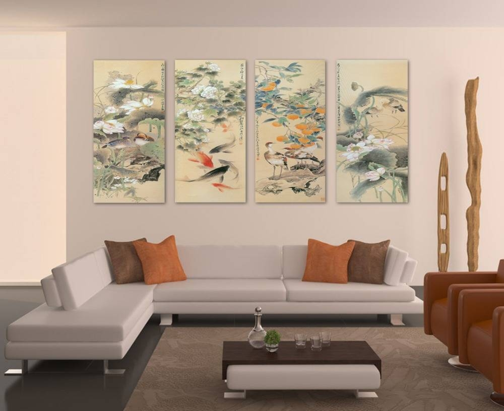 Large Wall Art For Living Rooms: Ideas & Inspiration Tall Wall In Most Up To Date Tall Wall Art Decor (View 12 of 20)