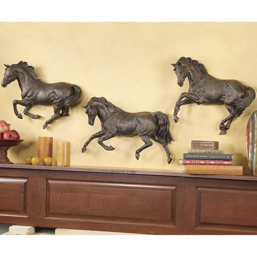 Large Wood Horse Image Photo Album Horse Wall Art – Home Decor Ideas Within Most Current 3d Horse Wall Art (View 5 of 20)