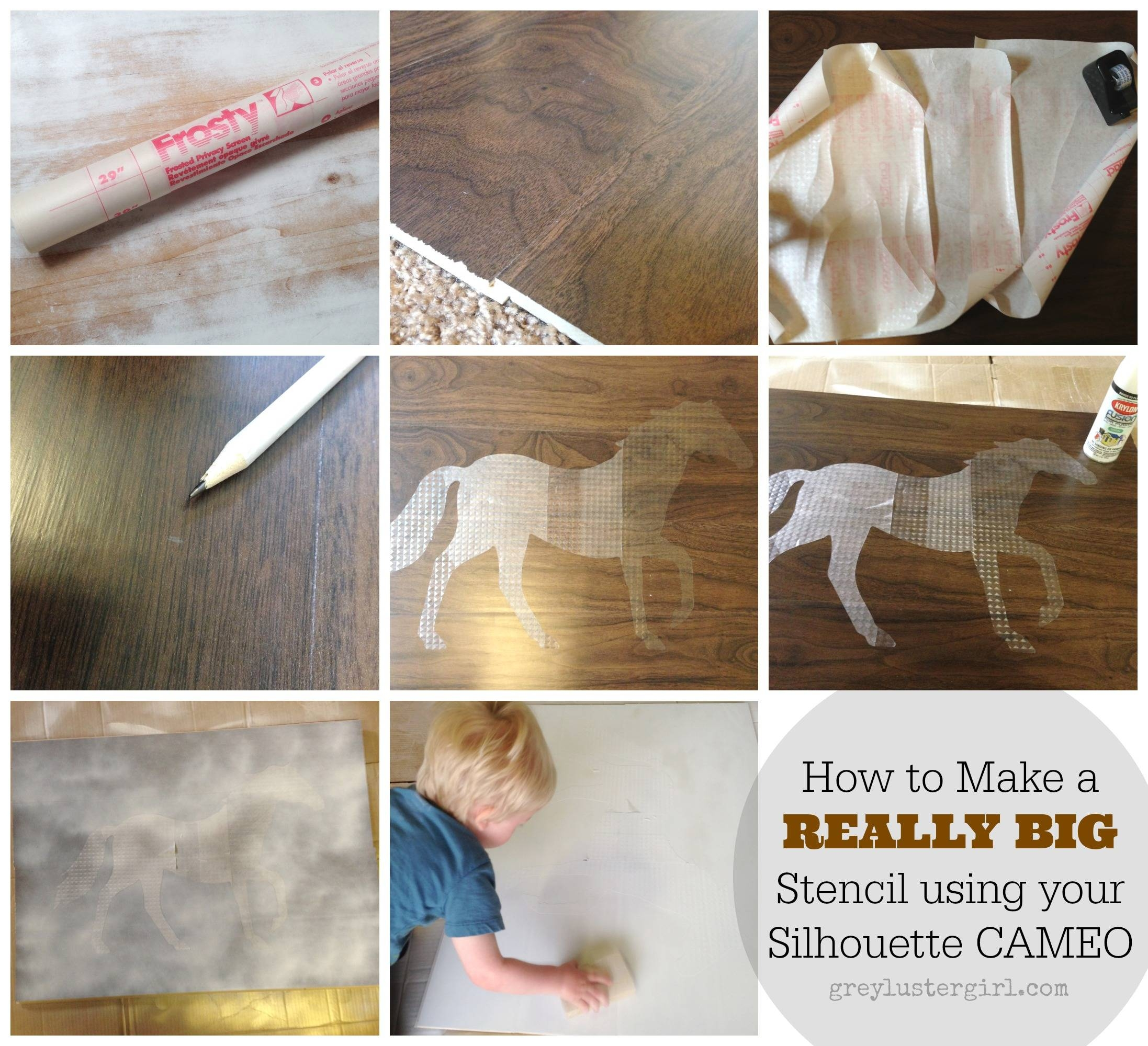 Large Wood Horse Wall Art And Silhouette Portrait Giveaway – Inside Recent Cameo Wall Art (View 10 of 20)