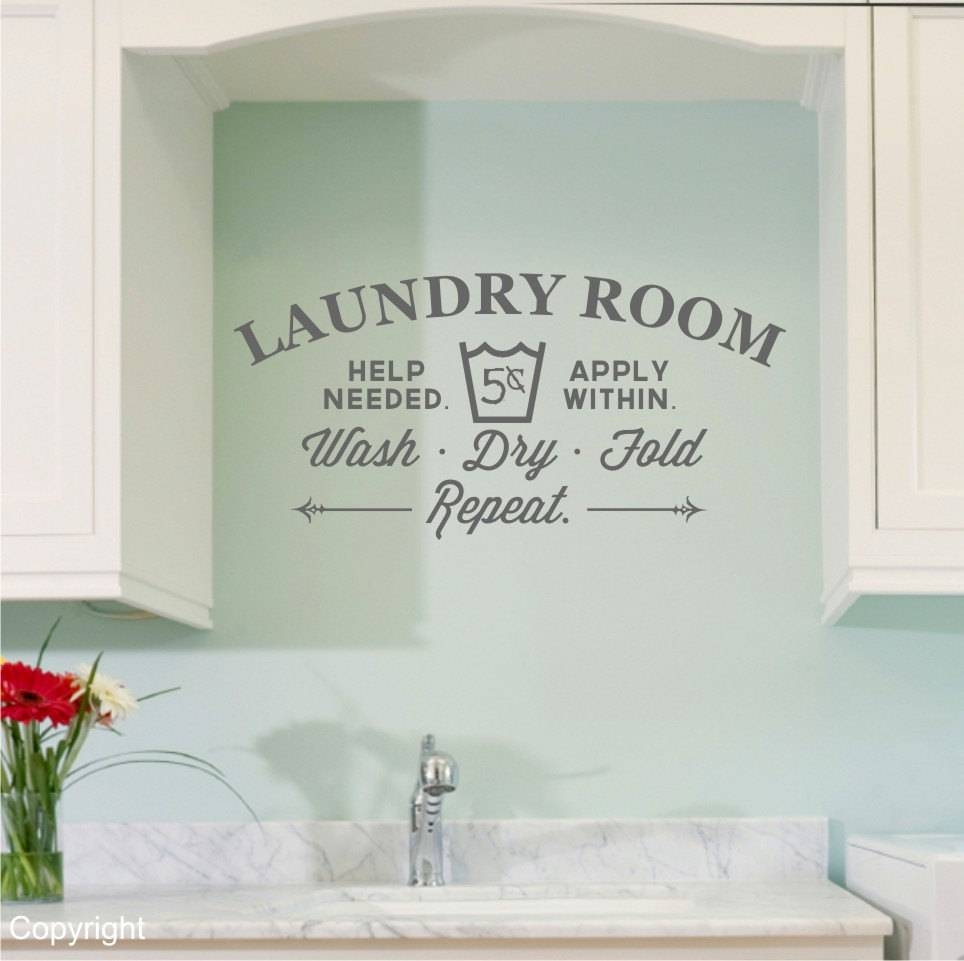 Laundry Room Art Decor – Creeksideyarns Intended For Current Laundry Room Wall Art Decors (View 13 of 25)