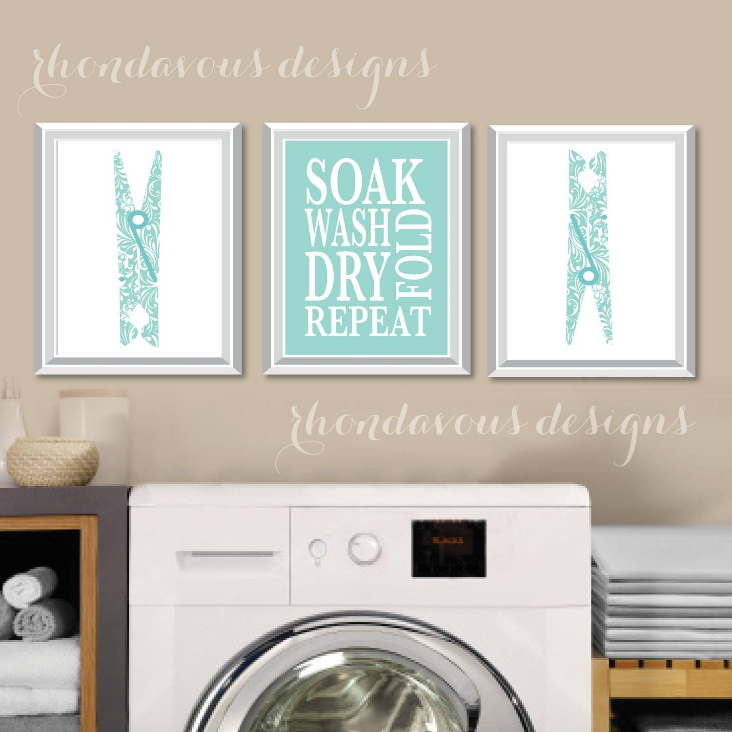 Featured Photo of Laundry Room Wall Art