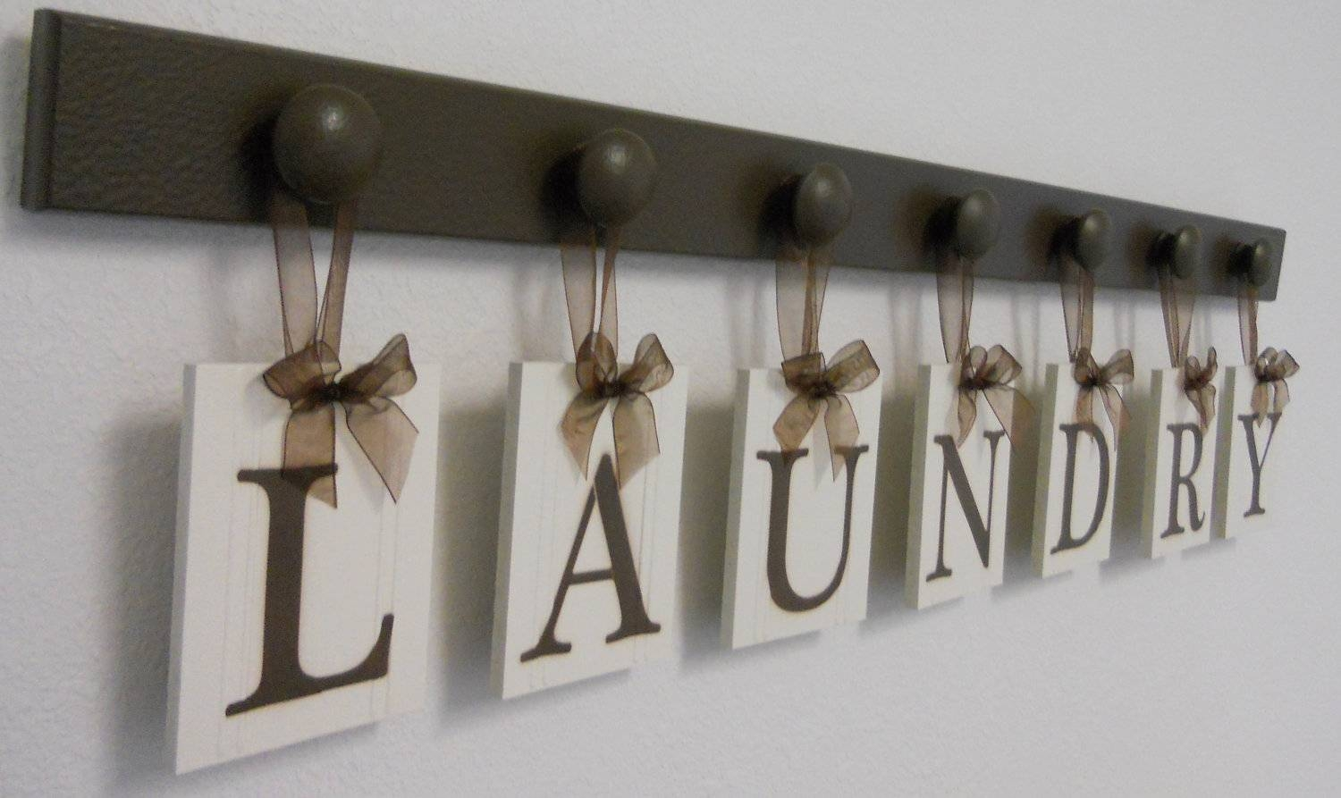 Laundry Room Decor Laundry Sign Laundry Room Sign Within Most Recent Laundry Room Wall Art Decors (View 12 of 25)
