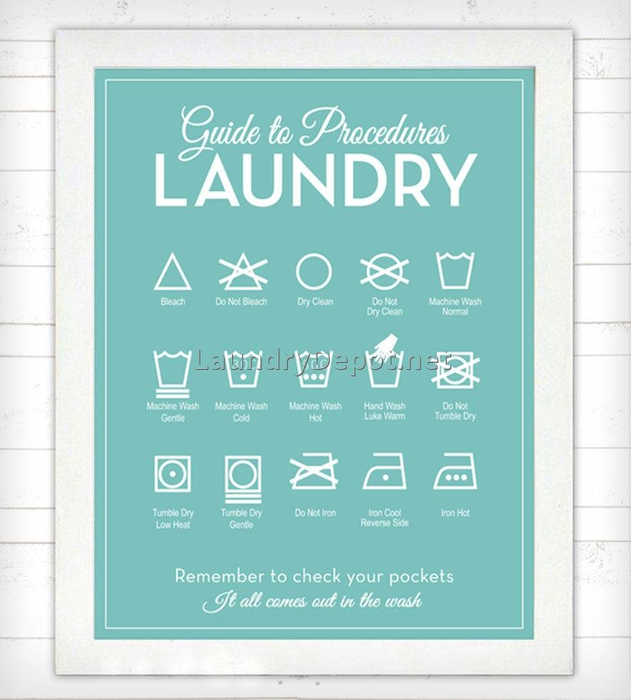 Laundry Room Wall Art Decor 3 | Best Laundry Room Ideas Decor For 2018 Laundry Room Wall Art Decors (View 21 of 25)