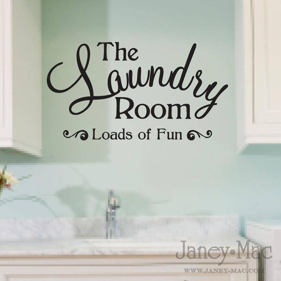 Laundry Room Wall Art Decor – Creeksideyarns Pertaining To Latest Laundry Room Wall Art Decors (View 19 of 25)