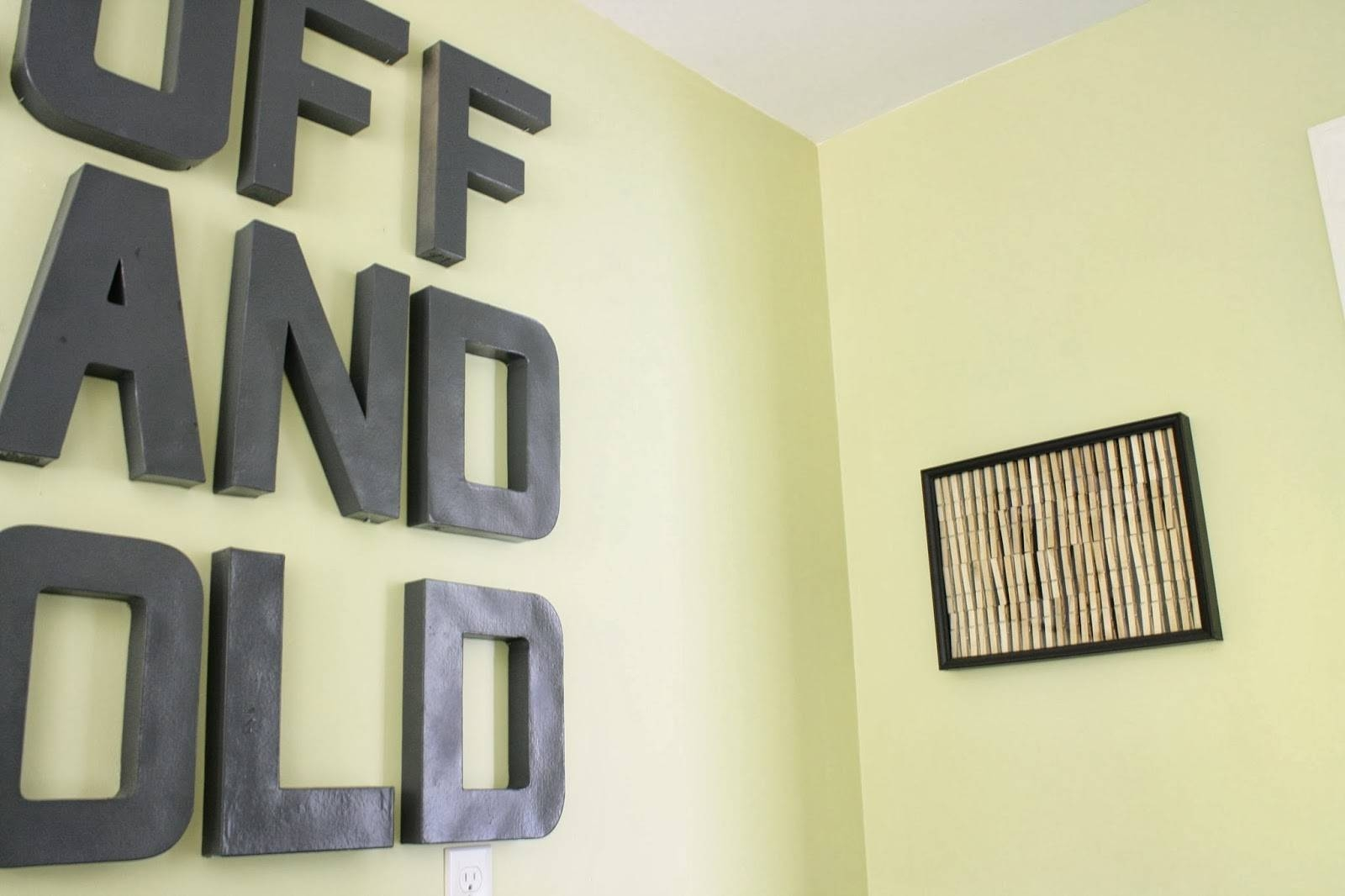 Laundry Room Wall Art Ideas: Thrifty, Easy Diy Tutorial | Designer Inside Current Laundry Room Wall Art (View 22 of 30)
