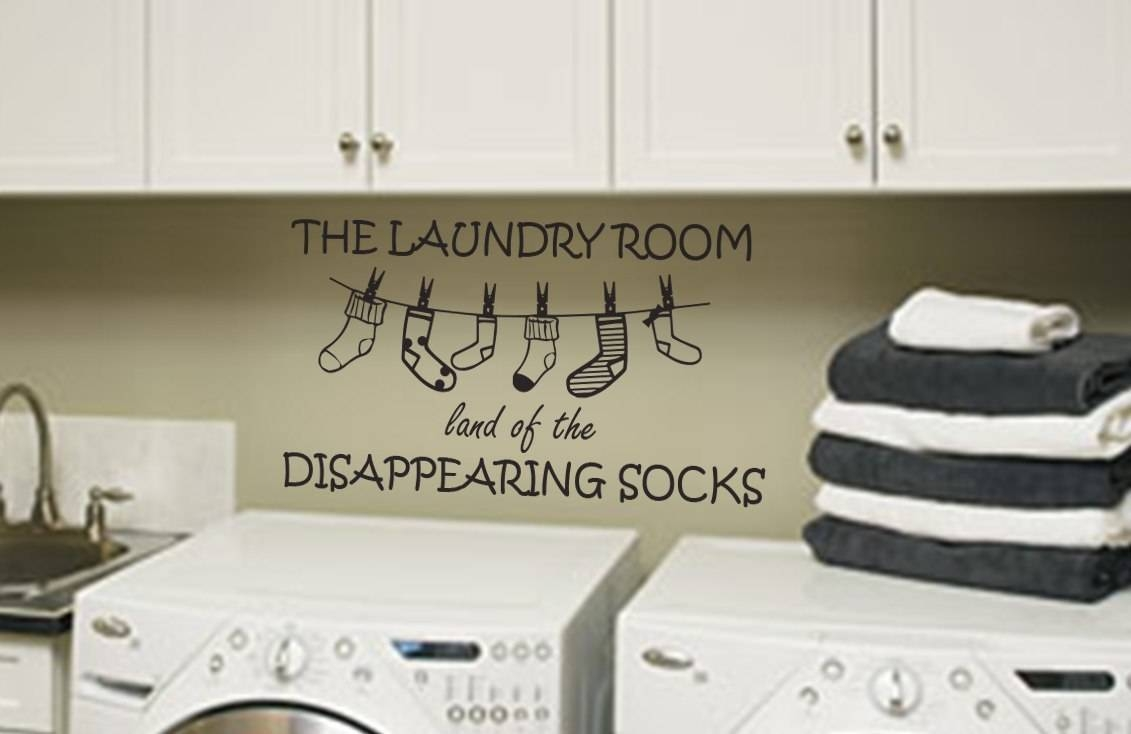 Laundry Room Wall Art | Wall Art Decal Sticker With Regard To Most Recent Laundry Room Wall Art (View 20 of 30)