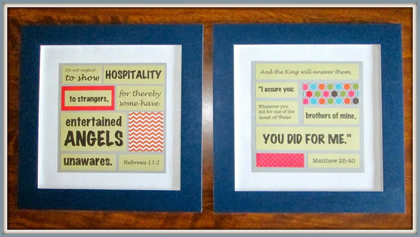 Laura's Plans: Easy Diy Bible Verse Art Within Most Popular Bible Verses Framed Art (View 14 of 25)