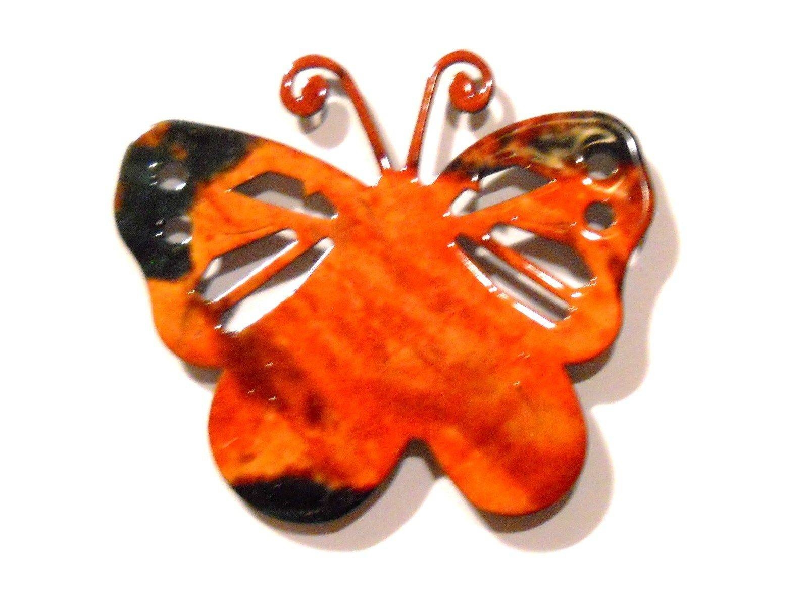 Lazart Metal Art Butterfly Magnet Insect Bug Decoration Usa Made In Most Recently Released Lazart Metal Art (View 17 of 30)